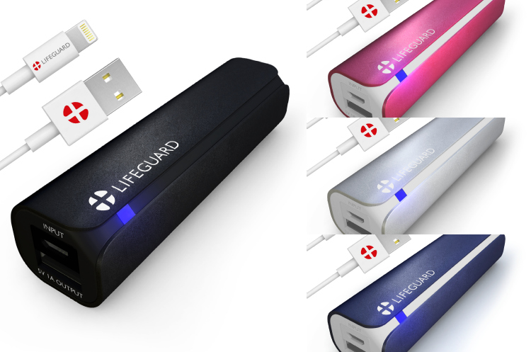 +LIFEGUARD MINI 1 Portable Charger