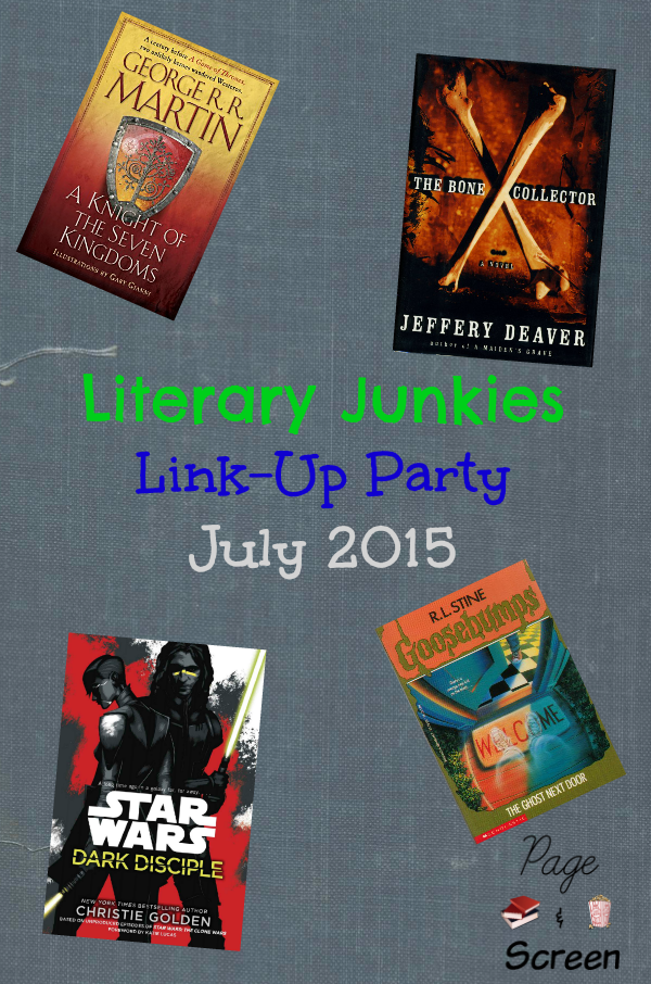 Literary Junkies July 2015