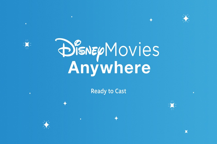 Disney Movies Anywhere Feat on Page & Screen
