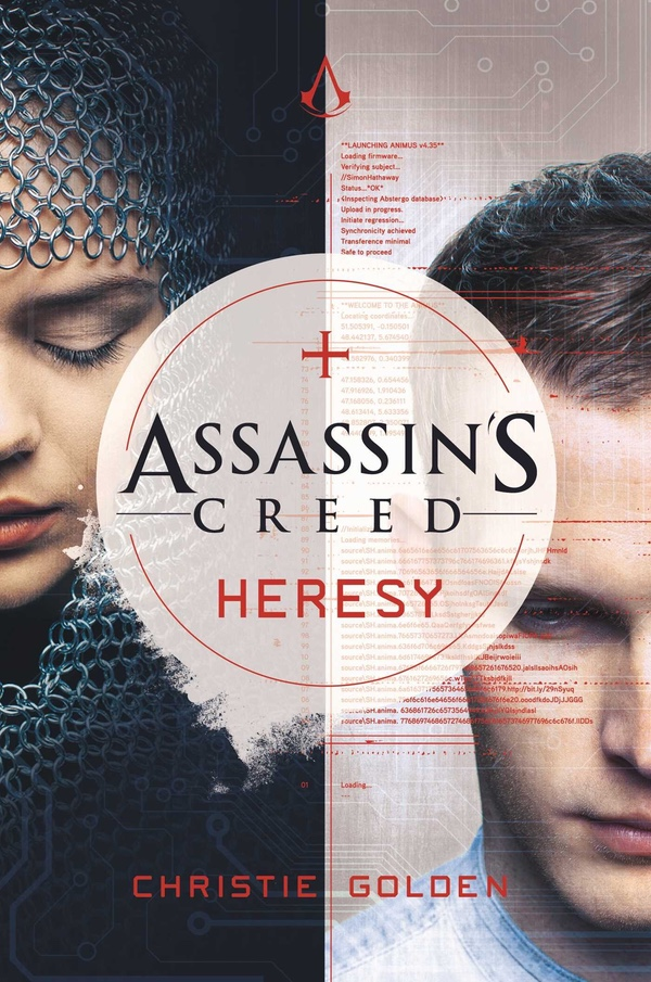 Assassin's Creed Heresy cover on Page & Screen